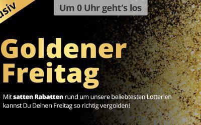 Goldener Freitag bei Lottohelden – 50% Rabatt