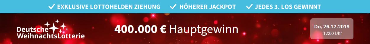 Gewinnzahlen Deutsche Weihnachtslotterie