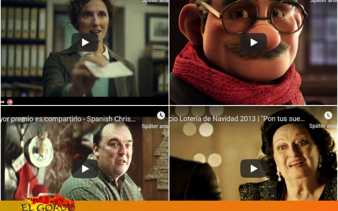 El Gordo Werbespots – Die Clips erobern die Welt